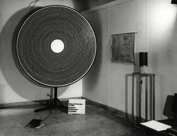DISCO STROBOSCOPICO E.GS.D.01-200 Matrice a dischetti neri – Black diskette matrix 1965/1972
