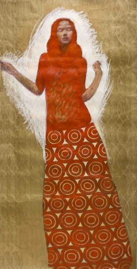 _RvB-Arts_Lucianella-Cafagna_Freya_tecnica-mista-su-carta-catramata_180-x-90-cm_light