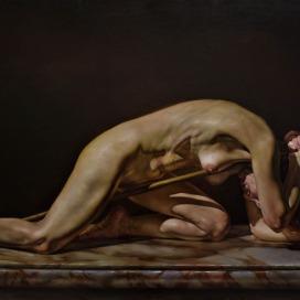 RvB-Arts_Mihail-Dinisiuc_Elettra_2018_oil-on-canvas_70-x-120-cm_light