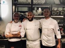Da sinistra: Edoardo Fraioli (Il Maritozzo Rosso), Mirko Campoli (Osteria 140) e Alberto Esterini
