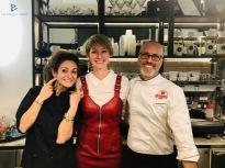 Maria Luisa Nappi, Silvia Carpene ed Edoardo Fraioli