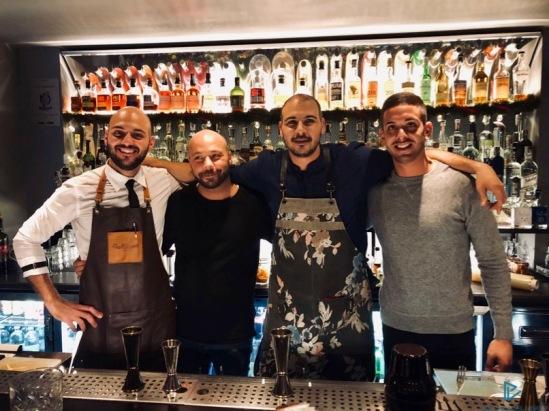 Da sinistra: Bruno Rocco, Marzio Troiano, Jordy Di Leone e Alberto Esterini