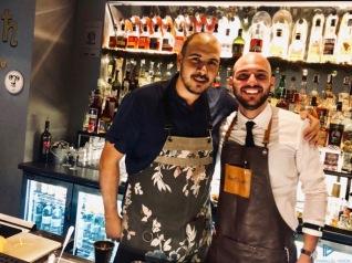 Jordy Di Leone (a sinistra) con Bruno Rocco