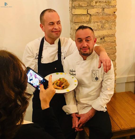 Davide Lombardi e Valerio Chiacchierini (Cento Gourmet)