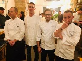 Da sinistra: Davide Lombardi, Alessandro Bergomi, Giulio Ancaiani e Valerio Chiacchierini