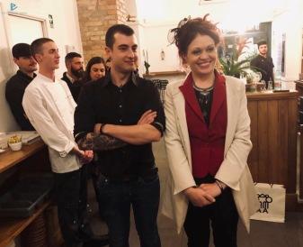 Luca Moroni e Valeria Pieri