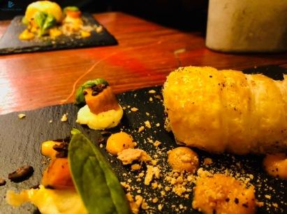 Cannolo ripieno di baccalà di chef Fabio Pecere (FAD - Burger&Bistrot)
