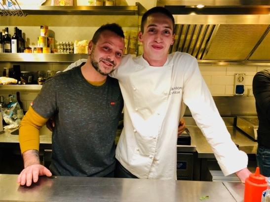 Fabio Pecere (FAD) con Alessandro Bergomi (L'Apulia)