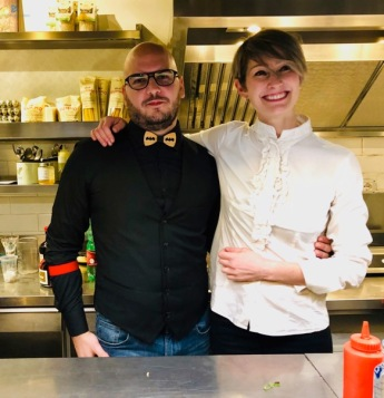 Stefano Franzon (My Martini) e Silvia Carpene (Gineria Buseto)