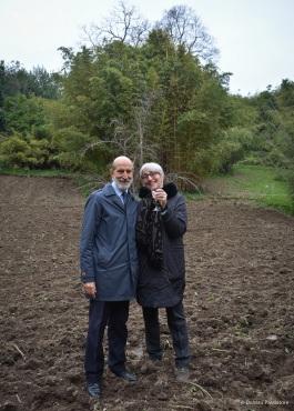 Luca e Francesca Maroni a Vigneto Italia - 2018