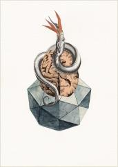 francesco-viscuso-reperti-del-futuro-nero-gallery-antiparametro-7.-i-meccanismi-cerebrali-sono-il-veleno-che-lentamente-ci-intossica---21-x-29,5-cm