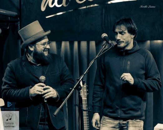 Daniele Sidonio (a sinistra) e Nico Maraja