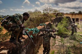 Somalia, Baidoa, 2015 © Marco Gualazzini / Contrasto