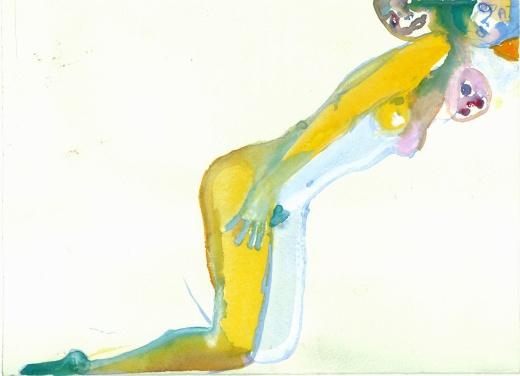 anastasia-kurakina-portraits-galleria-mizar-2019-Perplessione_14x24cm,_acquerello_su_carta,_2017_light