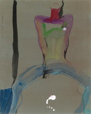 anastasia-kurakina-portraits-galleria-mizar-2019-Splash_31,5x26cm_acquerello_ink,-tempera-on-paper_2016_light