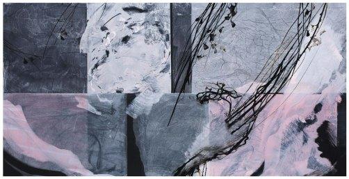 della-declinante-ombra-museo-bilotti-18-Ogni-cosa-ad-ogni-cosa-ha-detto-addio_1-–-India-ink-and-pigments-on-canvas-2018
