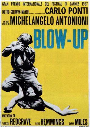 Locandina originale del film Blow-up ©Everett Collection