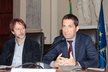 Luca Bergamo (a sinistra) e Gianluca Vacca