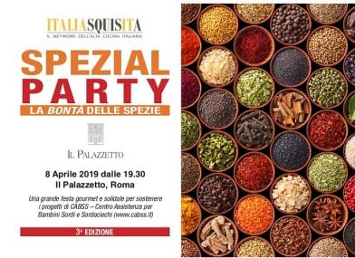 Locandina Spezial Party 2019