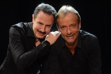 Giampiero Ingrassia e Gianluca Guidi