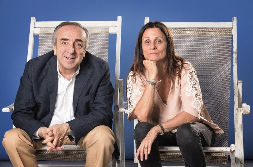 Silvio Orlando e Lucia Calamaro (foto: Claudia Pajewski)