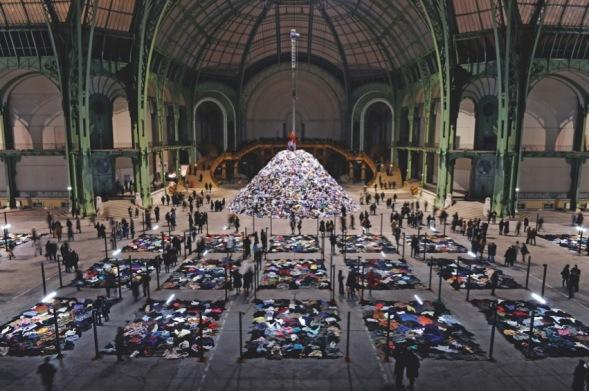 Christian Boltanski, Personnes Monumenta Gran Palais, Paris 2010 Courtesy: ADAJP Paris 2018, Photo by Dider Plowy