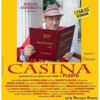 """""""Càsina""""di Plauto riprende dal 14 agosto alla Quercia del Tasso al Gianicolo"""