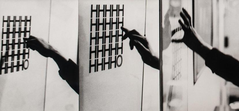 Decodificazione gestuale, 1974,courtesy Latitudo Art Project