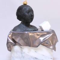 """""""Rifrazioni dell'Antico"""", la scultura di Monari a Villa Torlonia"""