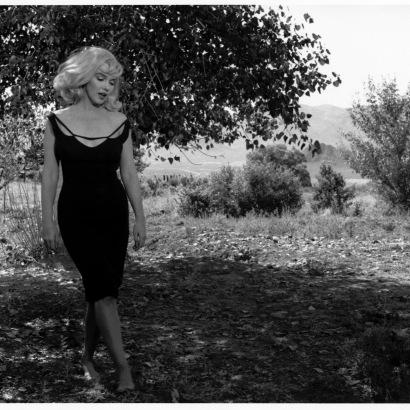 "Inge Morath, Marylin Monroe sul set di ""Misfits"", Nevada, 1960"