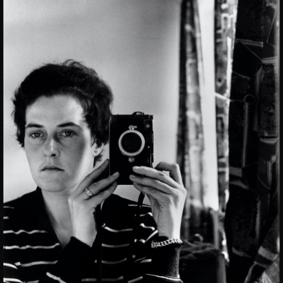 Inge Morath, Autoscatto, Gerusalemme, 1958