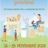 Settimana europea della riduzione dei rifiuti, il programma del V Municipio
