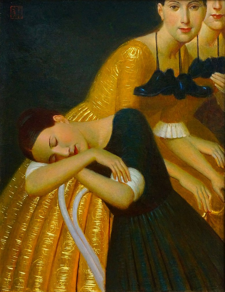 DCG_Andrey-Remnev_On-Tiptoe_oil-on-canvas_44x35-cm_2019 2