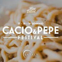 Il 2020 di Eataly inizia con il Cacio&Pepe Festival