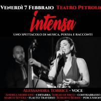 """Intensa"", Alessandra Torrice torna sul palco del Teatro Petrolini"