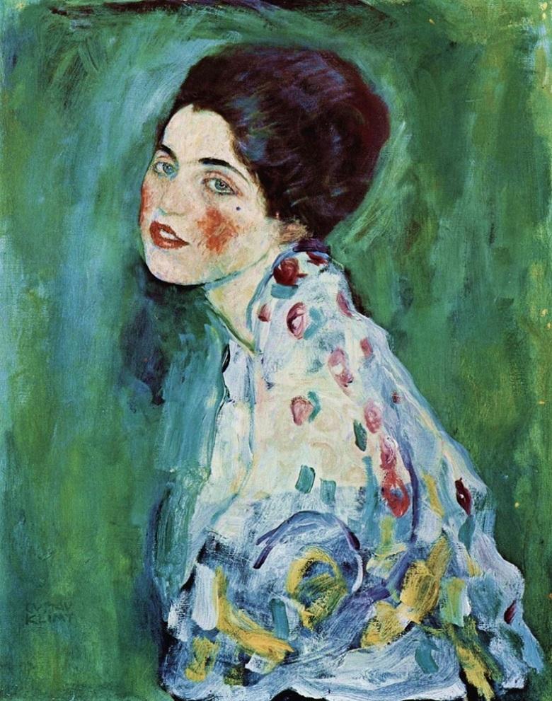 Gustav-Klimt-Ritratto-di-signora-2