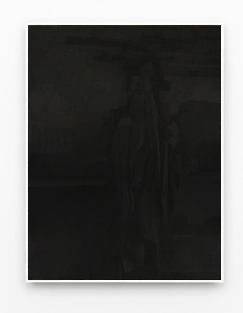 Francesco De Prezzo untitled 70x50 oil and enamel on canvas, 2019