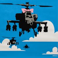 """""""Banksy a visual protest"""" sta per arrivare al Chiostro del Bramante"""