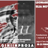 """""""Immagini in prosa"""", Crudi-Novecento alla Fondazione Besso"""