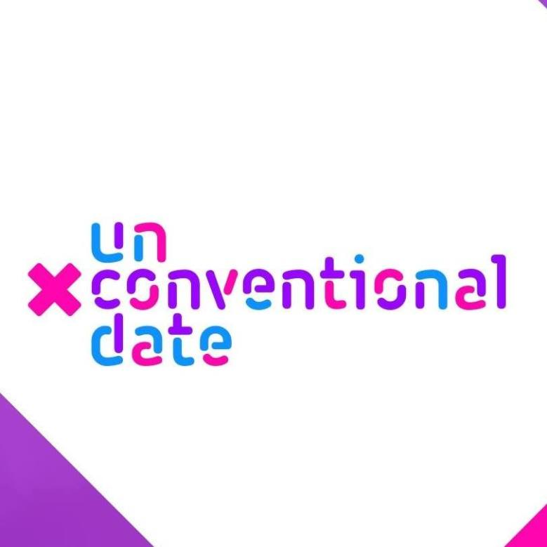 unconventional date logo