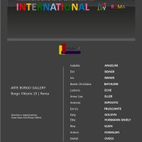 Mostra collettiva internazionale da Arte Borgo Gallery