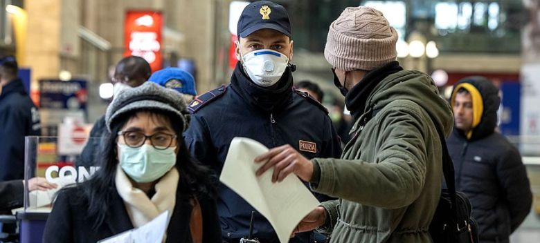 polizia-autocertificazione-coronavirus-mascherina