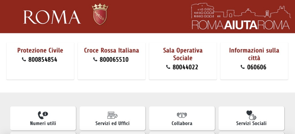 roma-aiuta-roma-home-page