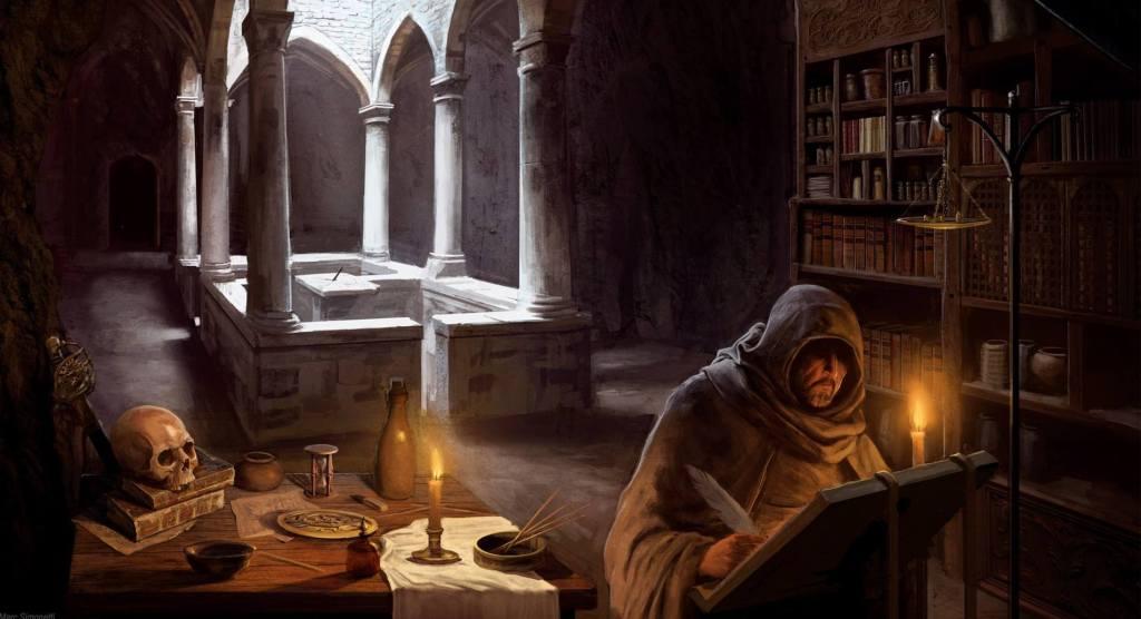 scriba-monaco-monastero-biblioteca-eresie
