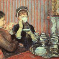 """#QuadroDelMese: Mary Cassatt, """"Il tè delle cinque"""" (1888)"""