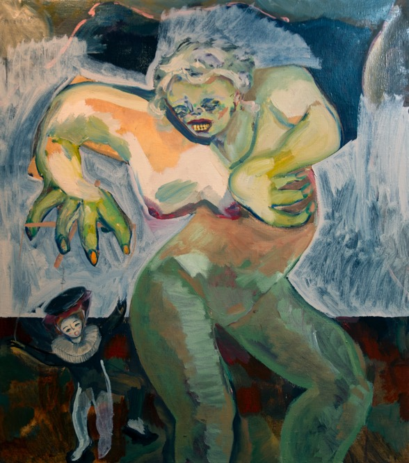 jay-miriam-woman-monster-painting