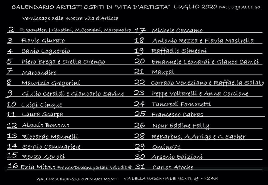 calendario-artisti-ospiti-vita-dartista-luglio-2020