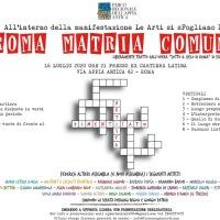 """""""Roma Matria Comune"""", 20 artisti """"assemblati"""" sull'Appia"""