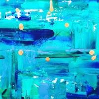 """""""Il colore dentro"""", Diana H. espone presso La Locomotiva"""
