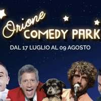 Orione Comedy Park, il teatro riparte dai grandi comici